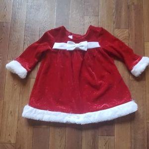 Long sleeve christmas dress